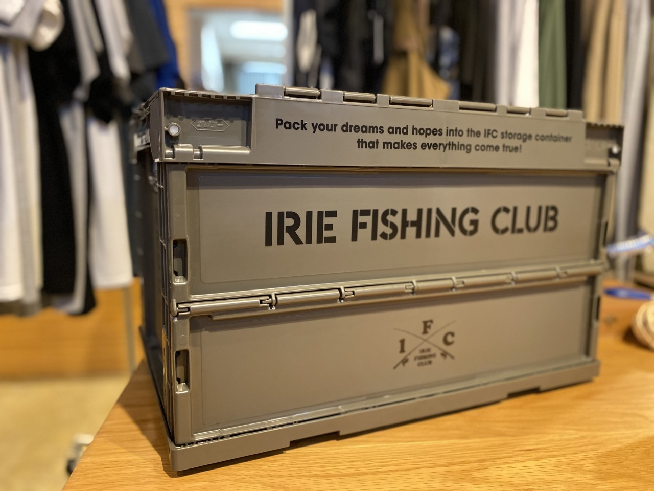 IRIE FISHING CLUB  新作ITEM!!