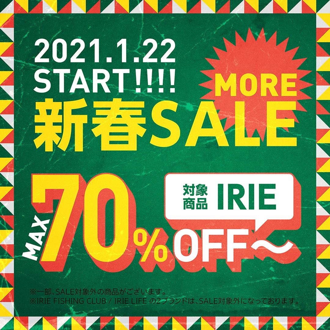 """IRIE"" MORE SALE !!!"